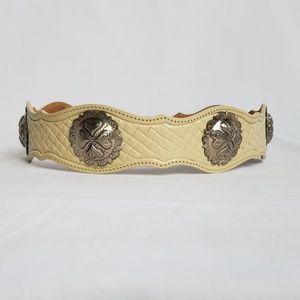 Leegin Silver Creek leather belt size S